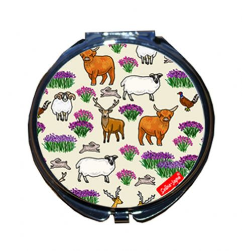Selina-Jayne Scottish Highlands Limited Edition Compact Mirror